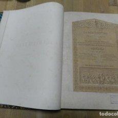 Libros antiguos: REVUE GÉNÉRALE DE LARCHITECTURE ET DES TRAVAUX PUBLICS 5 1844 REVISTA ARQUITECTURA FRANCÉS LÁMINAS. Lote 238549785