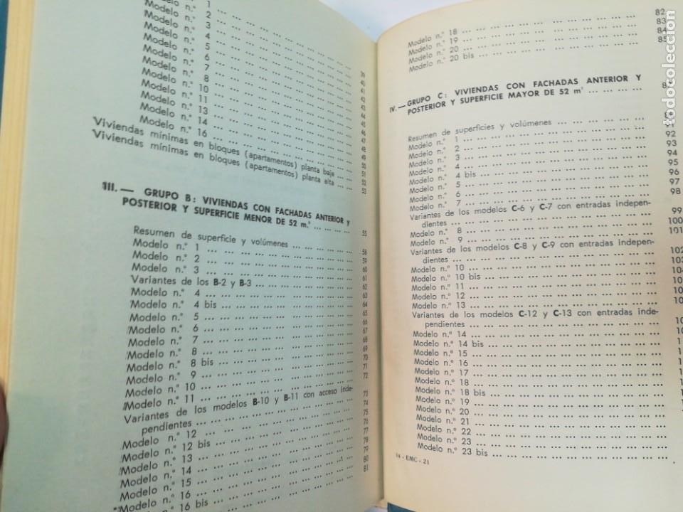 Libros antiguos: ANSELMO RODRIGUEZ 164 modelos de planos de plantas. Distribución racional de la vivienda SA2653 - Foto 3 - 238810450