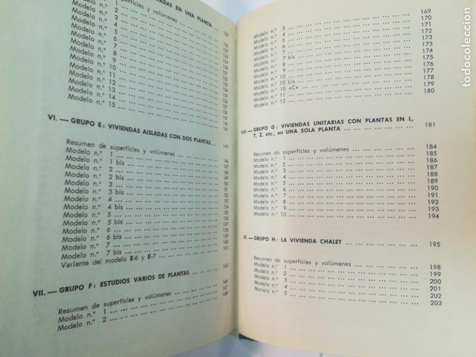 Libros antiguos: ANSELMO RODRIGUEZ 164 modelos de planos de plantas. Distribución racional de la vivienda SA2653 - Foto 4 - 238810450