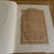 Libros antiguos: REVUE GÉNÉRALE DE LARCHITECTURE ET DES TRAVAUX PUBLICS 28 1870 REVISTA ARQUITECTURA FRANCÉS LÁMINAS. Lote 238550015