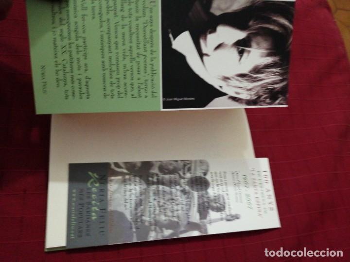 Libros antiguos: Núria Feliu - Recita les Sardanes Populars , llibre + cd - Foto 4 - 240352560