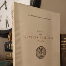 Libros antiguos: ESTUDIOS SOBRE VENTURA RODRIGUEZ (1717-1785) (PUBLICACIONES DE LA REAL ACADEMIA DE BELLAS ARTES DE S. Lote 241868420