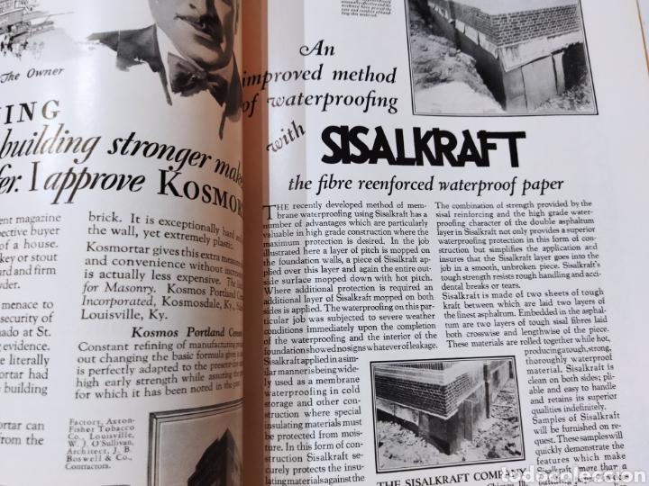 Libros antiguos: The Architectural Record .Septiembre 1928 - Foto 5 - 242423165