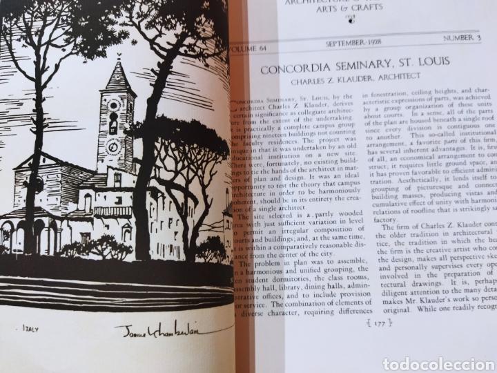 Libros antiguos: The Architectural Record .Septiembre 1928 - Foto 11 - 242423165