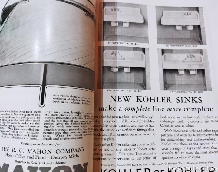 Libros antiguos: The Architectural Record .Septiembre 1928 - Foto 13 - 242423165
