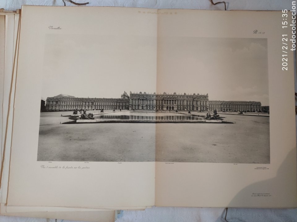 Libros antiguos: Les Grands Palais De France - Versalles - Foto 11 - 243270835