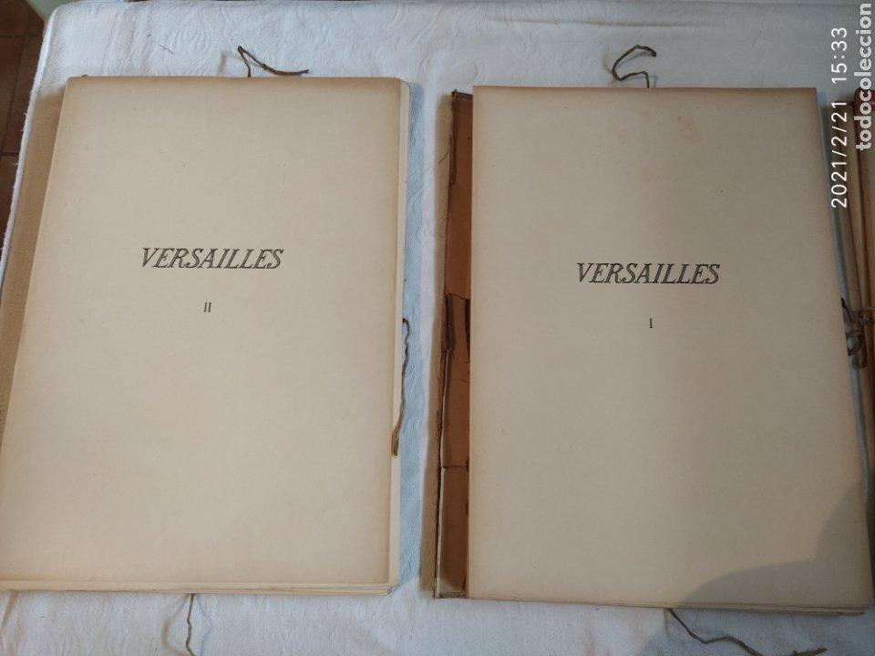 Libros antiguos: Les Grands Palais De France - Versalles - Foto 5 - 243270835