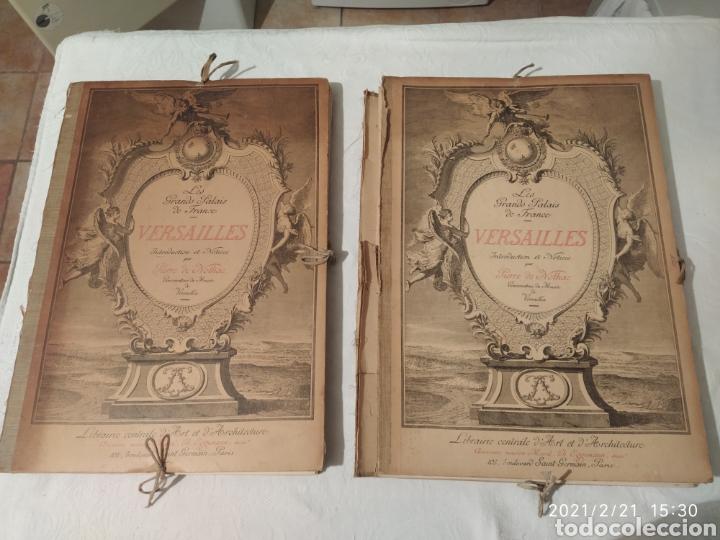 LES GRANDS PALAIS DE FRANCE - VERSALLES (Libros Antiguos, Raros y Curiosos - Bellas artes, ocio y coleccion - Arquitectura)
