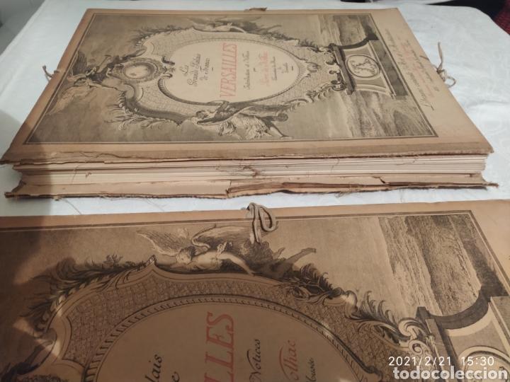 Libros antiguos: Les Grands Palais De France - Versalles - Foto 3 - 243270835