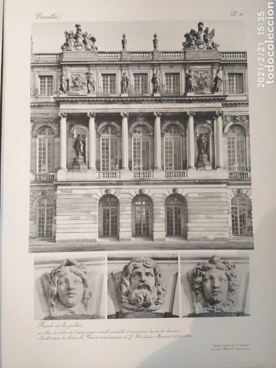 Libros antiguos: Les Grands Palais De France - Versalles - Foto 6 - 243270835