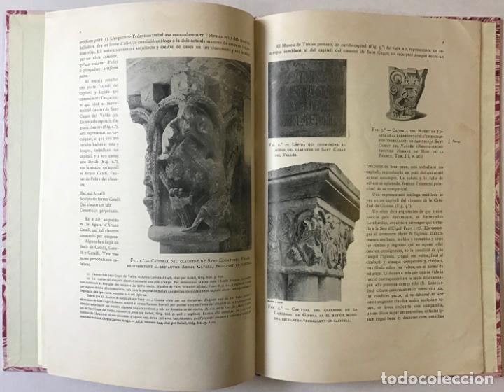 Libros antiguos: ELS CONSTRUCTORS DE LES OBRES ROMÀNIQUES A CATALUNYA. - FALGUERA, Antoni de. - Foto 3 - 243534775