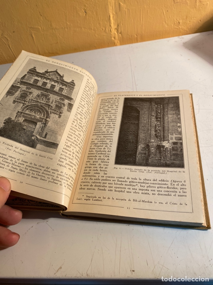 Libros antiguos: Arquitectura del renacimiento español - Foto 5 - 245108395