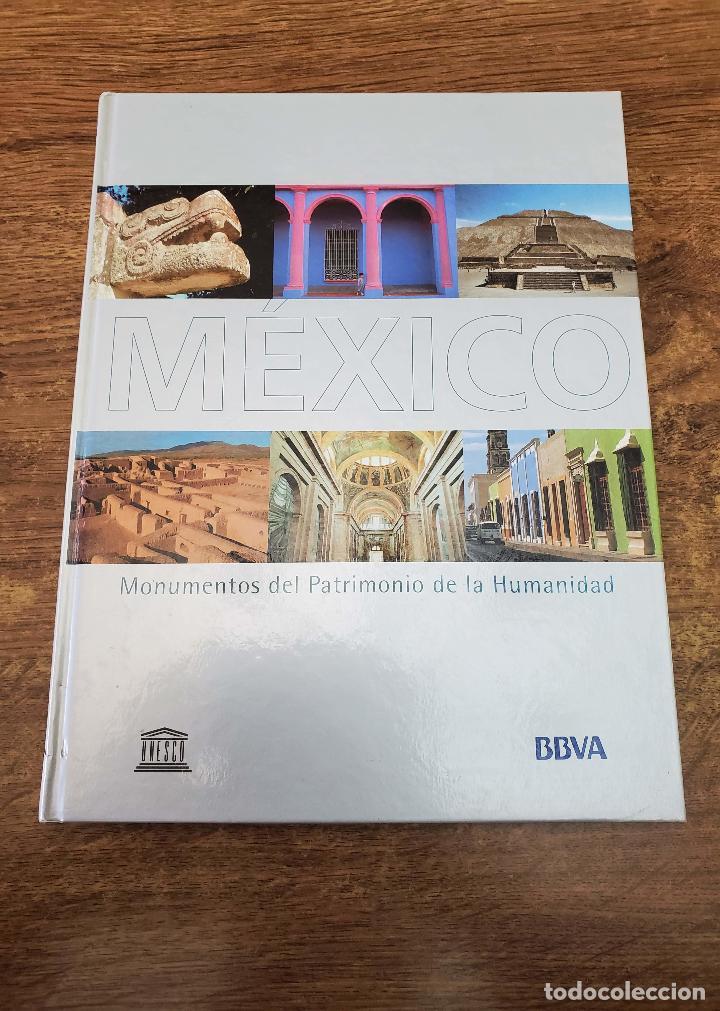 LIBRO MONUMENTOS PATRIMONIO HUMANIDAD MEXICO 2002 PAG 159 TAPA DURA ILUSTRADO (Libros Antiguos, Raros y Curiosos - Bellas artes, ocio y coleccion - Arquitectura)