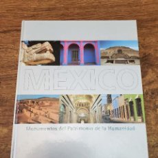 Libros antiguos: LIBRO MONUMENTOS PATRIMONIO HUMANIDAD MEXICO 2002 PAG 159 TAPA DURA ILUSTRADO. Lote 245433960