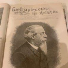 Libros antiguos: LA ILUSTRACIÓN ARTÍSTICA AÑO 1893. Lote 245636940