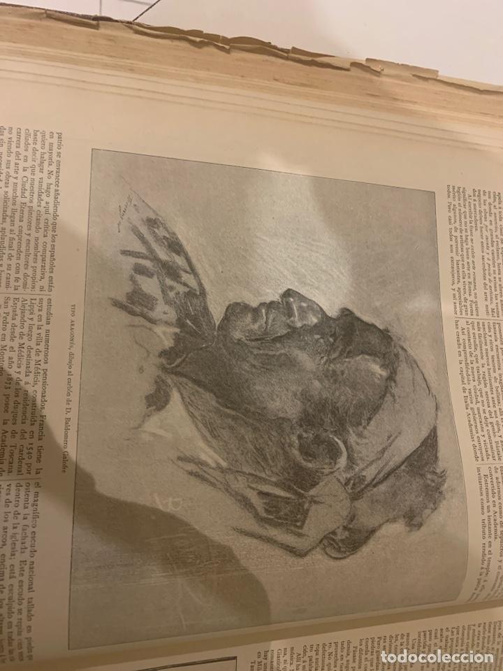 Libros antiguos: La ilustración artística año 1892 magnífica colección de grabados - Foto 2 - 245638295