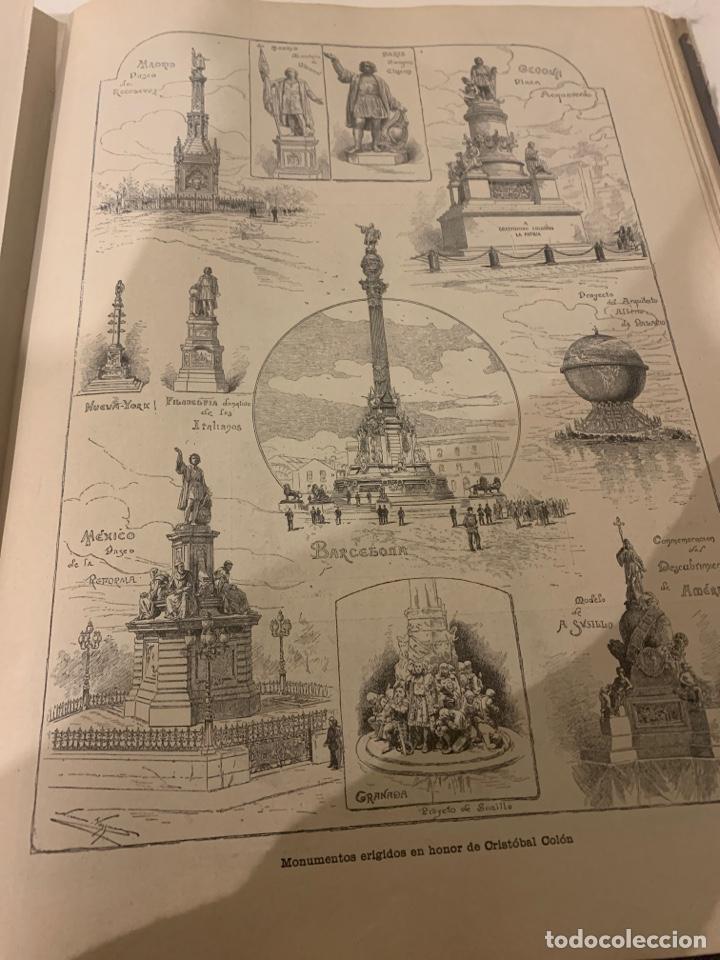 Libros antiguos: La ilustración artística año 1892 magnífica colección de grabados - Foto 5 - 245638295