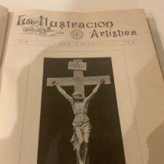 Libros antiguos: LA ILUSTRACIÓN ARTÍSTICA AÑO 1892 MAGNÍFICA COLECCIÓN DE GRABADOS. Lote 245638295