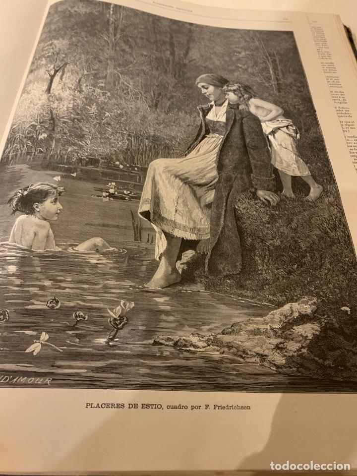 Libros antiguos: La ilustración artística año 1883 magnífica colección de grabados - Foto 4 - 245642020
