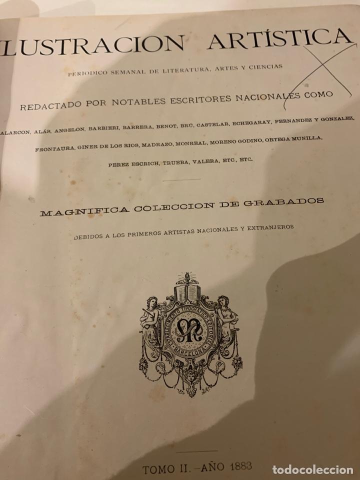 LA ILUSTRACIÓN ARTÍSTICA AÑO 1883 MAGNÍFICA COLECCIÓN DE GRABADOS (Libros Antiguos, Raros y Curiosos - Bellas artes, ocio y coleccion - Arquitectura)