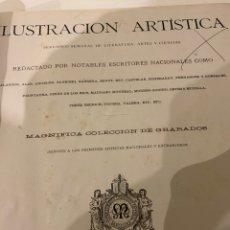 Libros antiguos: LA ILUSTRACIÓN ARTÍSTICA AÑO 1883 MAGNÍFICA COLECCIÓN DE GRABADOS. Lote 245642020