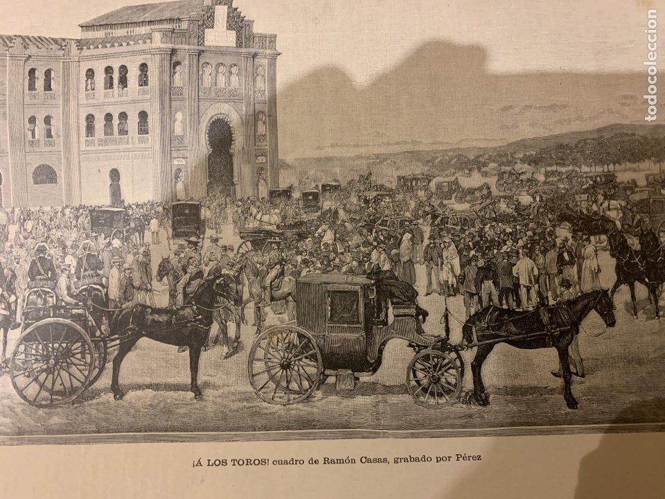 Libros antiguos: La ilustración artística año 1887 magnífica colección de grabados - Foto 2 - 245644485