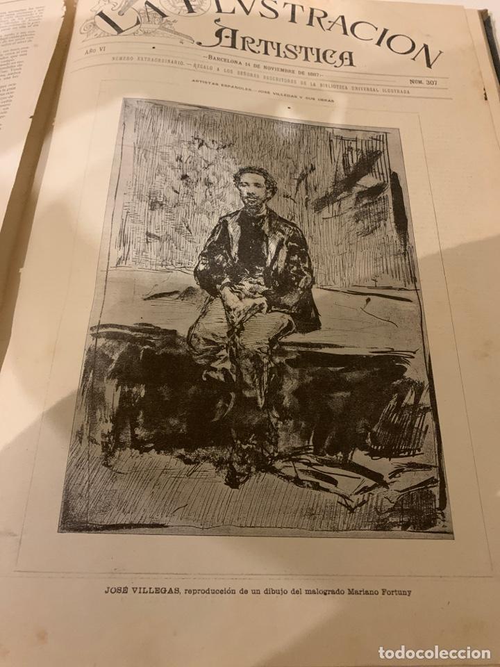 Libros antiguos: La ilustración artística año 1887 magnífica colección de grabados - Foto 3 - 245644485