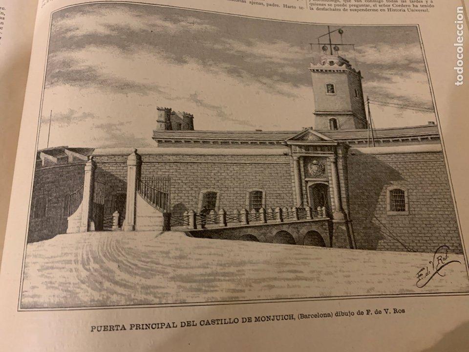 Libros antiguos: La ilustración artística año 1887 magnífica colección de grabados - Foto 4 - 245644485