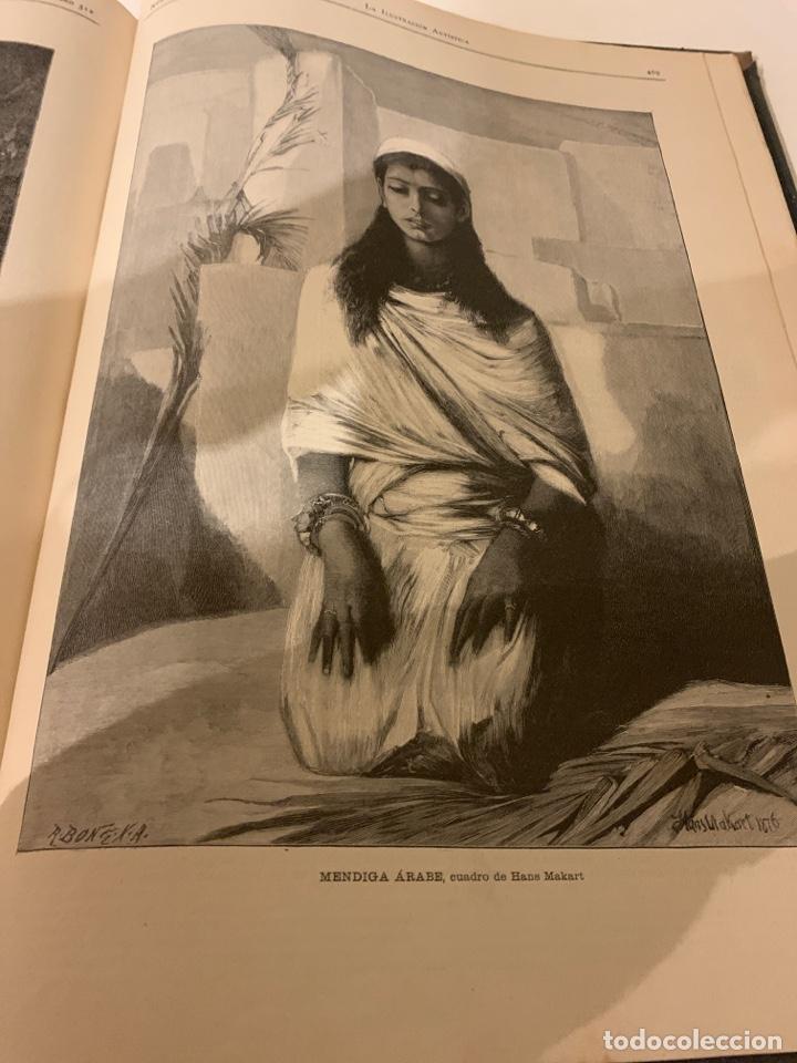 Libros antiguos: La ilustración artística año 1887 magnífica colección de grabados - Foto 5 - 245644485