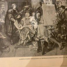 Libros antiguos: LA ILUSTRACIÓN ARTÍSTICA AÑO 1887 MAGNÍFICA COLECCIÓN DE GRABADOS. Lote 245644485