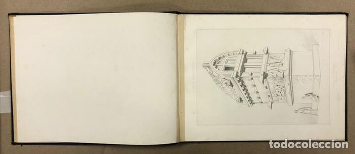 """Libros antiguos: ENTRETIENS SUR L'ARCHITECTURE """"ATLAS"""". M. VIOLLET LE DUC. A. MOREL ET CIE EDITEURS 1863. - Foto 4 - 248056065"""