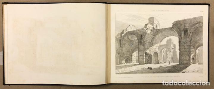 """Libros antiguos: ENTRETIENS SUR L'ARCHITECTURE """"ATLAS"""". M. VIOLLET LE DUC. A. MOREL ET CIE EDITEURS 1863. - Foto 6 - 248056065"""