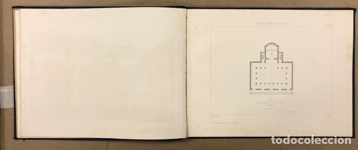 """Libros antiguos: ENTRETIENS SUR L'ARCHITECTURE """"ATLAS"""". M. VIOLLET LE DUC. A. MOREL ET CIE EDITEURS 1863. - Foto 7 - 248056065"""