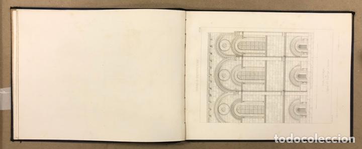 """Libros antiguos: ENTRETIENS SUR L'ARCHITECTURE """"ATLAS"""". M. VIOLLET LE DUC. A. MOREL ET CIE EDITEURS 1863. - Foto 8 - 248056065"""