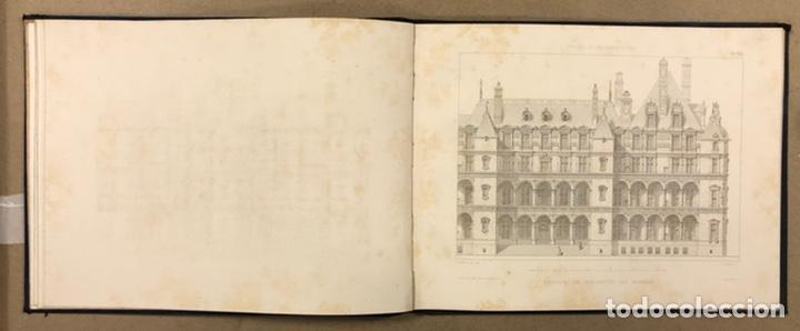 """Libros antiguos: ENTRETIENS SUR L'ARCHITECTURE """"ATLAS"""". M. VIOLLET LE DUC. A. MOREL ET CIE EDITEURS 1863. - Foto 9 - 248056065"""