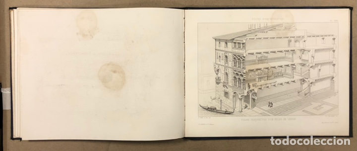 """Libros antiguos: ENTRETIENS SUR L'ARCHITECTURE """"ATLAS"""". M. VIOLLET LE DUC. A. MOREL ET CIE EDITEURS 1863. - Foto 13 - 248056065"""