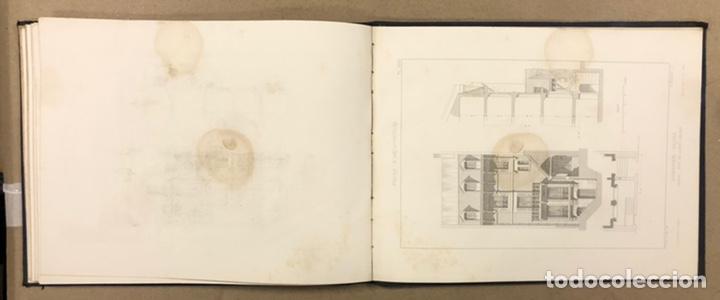 """Libros antiguos: ENTRETIENS SUR L'ARCHITECTURE """"ATLAS"""". M. VIOLLET LE DUC. A. MOREL ET CIE EDITEURS 1863. - Foto 14 - 248056065"""