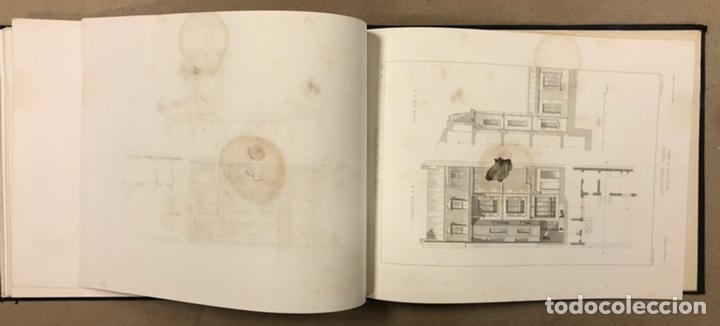 """Libros antiguos: ENTRETIENS SUR L'ARCHITECTURE """"ATLAS"""". M. VIOLLET LE DUC. A. MOREL ET CIE EDITEURS 1863. - Foto 15 - 248056065"""