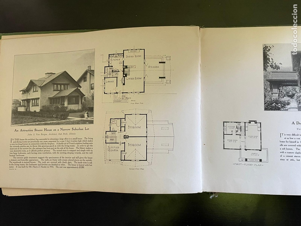 Libros antiguos: Hogares americanos modernos libro antiguo - Foto 4 - 248591365