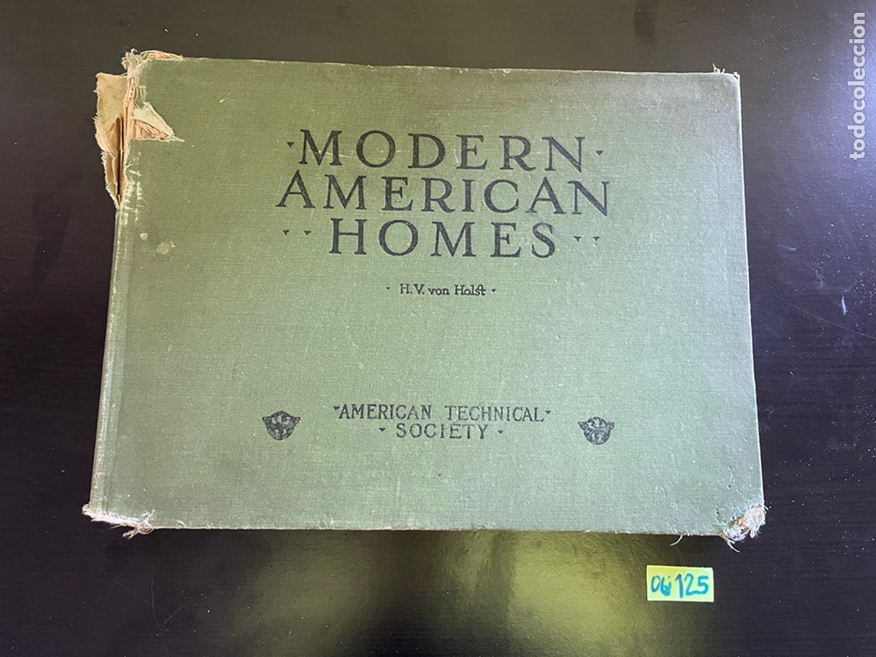 HOGARES AMERICANOS MODERNOS LIBRO ANTIGUO (Libros Antiguos, Raros y Curiosos - Bellas artes, ocio y coleccion - Arquitectura)