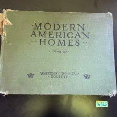 Libros antiguos: HOGARES AMERICANOS MODERNOS LIBRO ANTIGUO. Lote 248591365