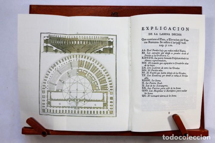Libros antiguos: Compendio de los diez libros de arquitectura de Vitruvio, Claudio Perrault. Láminas. Ed. de 1761 - Foto 2 - 251807045