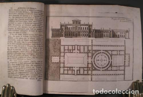Libros antiguos: VITRUVIO (LARCHITETTURA GENERALE, 1794) Y VIGNOLA (GLI ORDINI DI ARCHITETTURA, 1823) - Foto 2 - 43216007