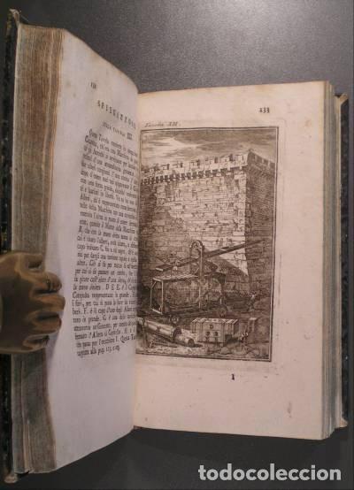 Libros antiguos: VITRUVIO (LARCHITETTURA GENERALE, 1794) Y VIGNOLA (GLI ORDINI DI ARCHITETTURA, 1823) - Foto 3 - 43216007