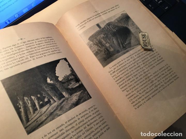 Libros antiguos: D. SALVADOR SELLÉS Y BARÓ - LIBRO , EL PARQUE GUELL CON DEDICATORIA AUTOGRA A TINTA ORIGINAL DEL ARQ - Foto 3 - 254512265