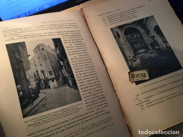 Libros antiguos: AYUNTAMIENTO CONSTITUCIONAL DE BARCELONA LA VIA LAYETANA PER FRANCESCH CARRERAS Y CANDI ESGRAFIADOS - Foto 2 - 254571120