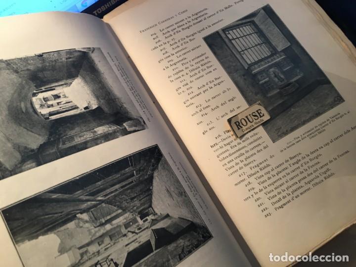 Libros antiguos: AYUNTAMIENTO CONSTITUCIONAL DE BARCELONA LA VIA LAYETANA PER FRANCESCH CARRERAS Y CANDI ESGRAFIADOS - Foto 3 - 254571120