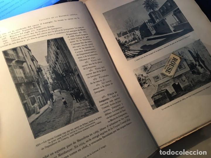 Libros antiguos: AYUNTAMIENTO CONSTITUCIONAL DE BARCELONA LA VIA LAYETANA PER FRANCESCH CARRERAS Y CANDI ESGRAFIADOS - Foto 4 - 254571120