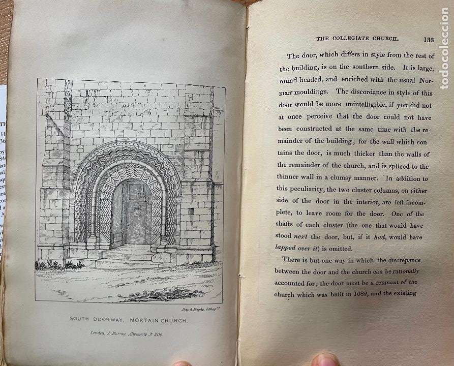 Libros antiguos: AN ARCHITECTURAL TOUR IN NORMANDY, Henry Gally Knight, 1836 - Foto 6 - 255923190