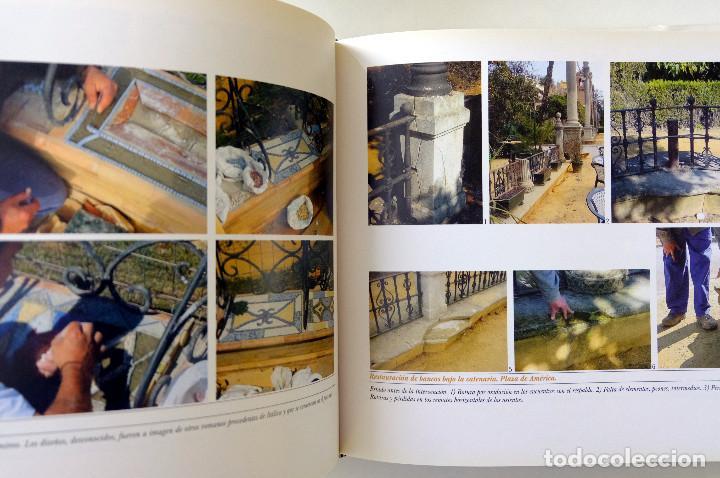 Libros antiguos: EL PARQUE DE MARIA LUISA.RESTAURACION Y REHABILITACION DE GLORIETAS.Coordina Francisco González - Foto 3 - 257737665